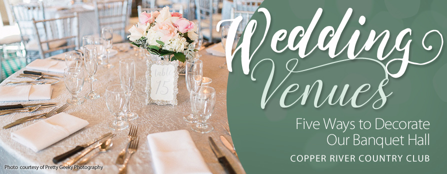 Banquet Halls: Five Ways to Decorate Them for Weddings & Events